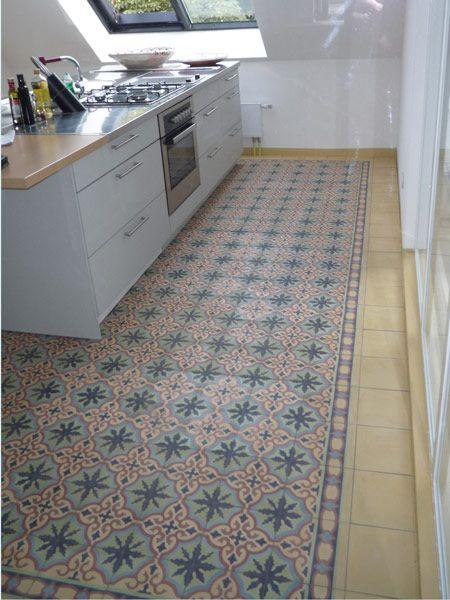 Captivating Küche Mit Zementfliesen Ira 6